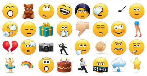 Utilizar emoticon skype