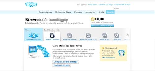 tutorial-Agregar credito Skype