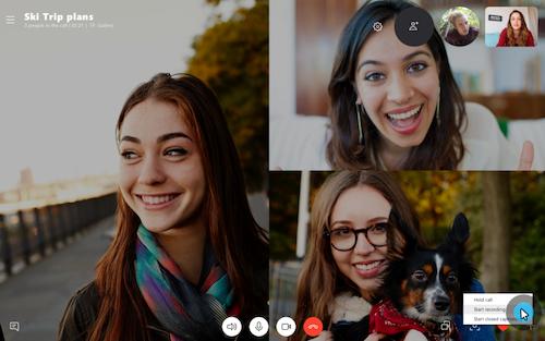 compartir escritorio con Skype